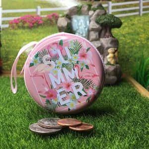 Handbags - Summer Pink Flamingo Coin Purse